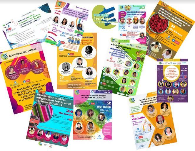 Webinars Educativos de CBDE
